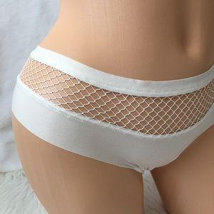 Victoria's Secret Intimates & Sleepwear - VS M FISHNETS CHEEKY PANTY